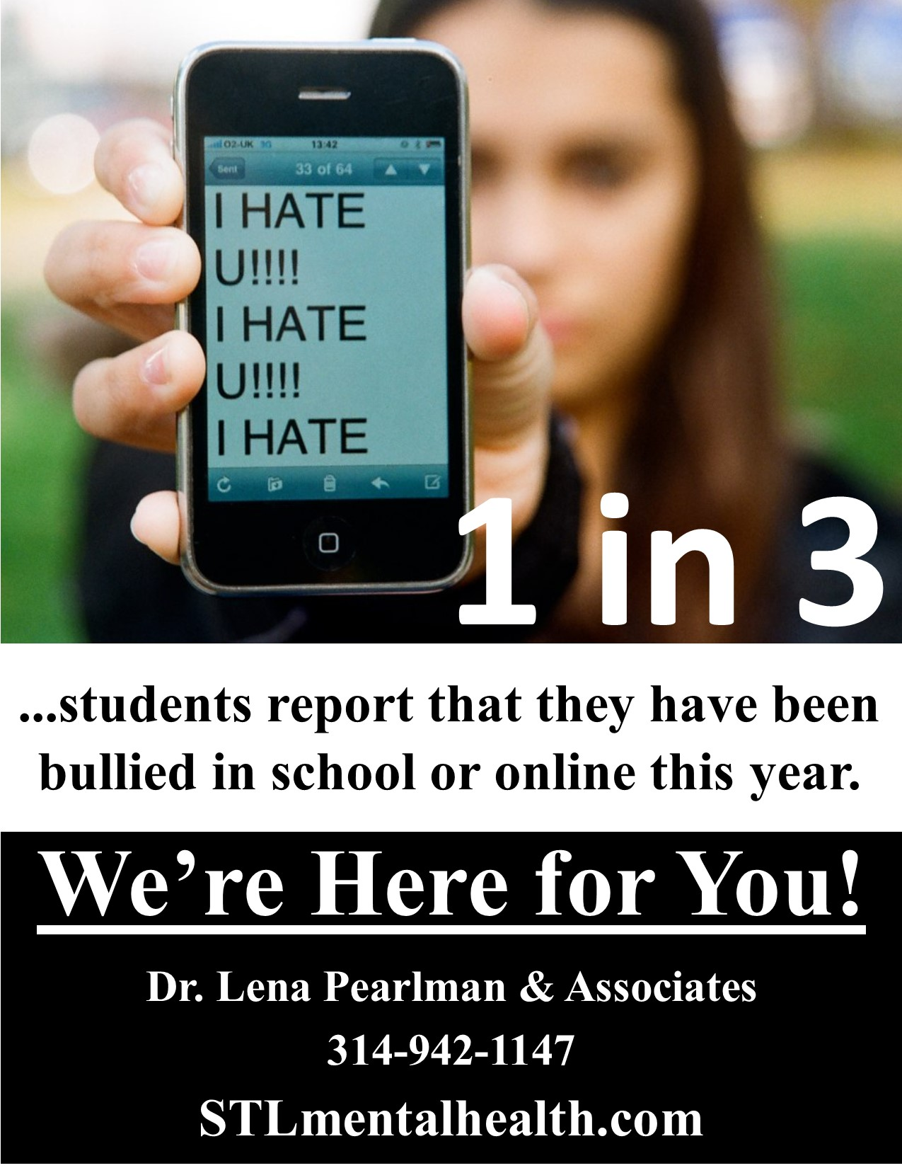 bullying flyer